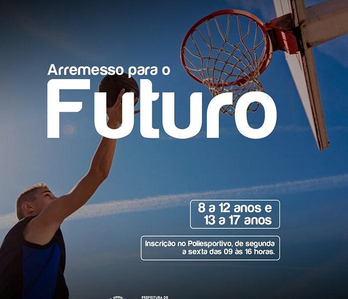 Secretaria de Esporte e Lazer abre inscrições para projeto de Basquete