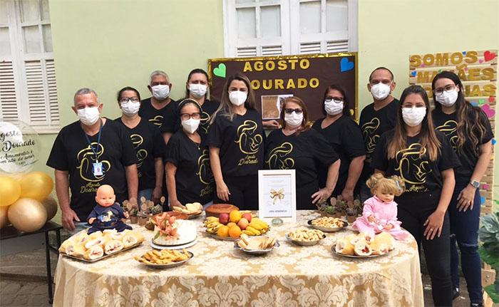 Itaperuna: UBS de Comendador Venâncio realiza evento para comemorar o Agosto Dourado