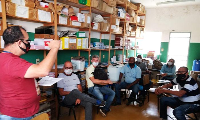 Supervisores da CVAS Itaperuna realizam treinamento para uso de novo larvicida
