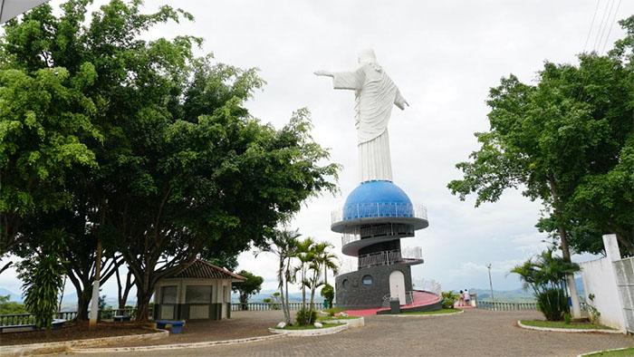 Cristo Redentor de Itaperuna terá wifi liberado e luneta panorâmica
