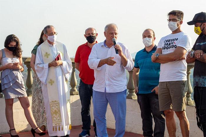 Cristo Redentor de Itaperuna ganha luneta panorâmica e tem wifi liberado