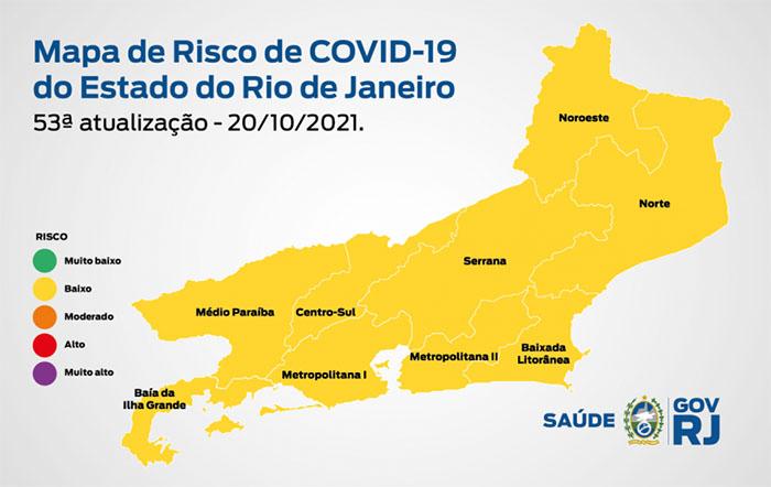 Covid-19: Região Noroeste com classificação de baixo risco